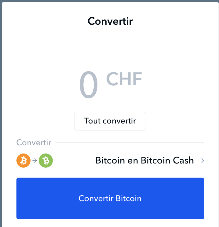 Convert options of coinbase